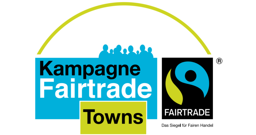"Logo der Kampagne ""FairTrade Towns"""