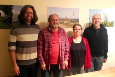 Der neue Vorstand des bündnisgrünen Ortsverbandes Güstrow